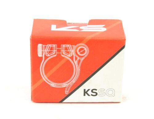 KS Suspension Ether Seatpost Clamp Black Quick Release 35mm