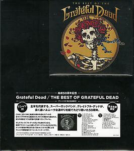 GRATEFUL-DEAD-THE-BEST-OF-THE-GRATEFUL-DEAD-JAPAN-2-CD-w-T-shirt-Ltd-Ed-U00