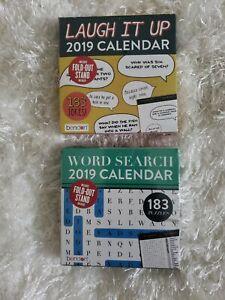 Laugh It Up Word Search 2019 Calendar Ebay