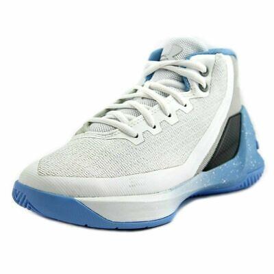 san francisco 7b7e1 260d8 NEW Little Kids Under Armour UA Curry 3 Basketball Shoes White/Opal  Blue/Steel   eBay