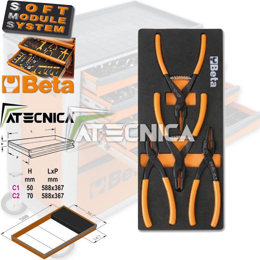Thermogeformte weich Beta M145 C1-147 4 Zangen seeger für Ringe elastisches