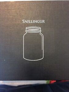 SNILLINGUR-GLASS-FERMENTATION-WEIGHTS-4-PACK