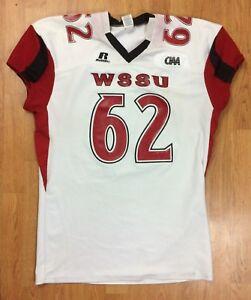 Winston-Salem State Rams Authentic Game Worn Football Jersey  62 3XL ... 606f77b8c