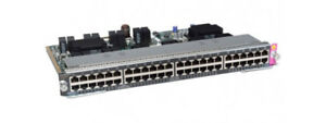 WS-X4748-UPOE-E-Cisco-Catalyst-4500E-Line-Card-48-Port-UPOE-10-100-1000-RJ45