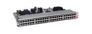 WS-X4748-UPOE-E-Cisco-Catalyst-4500E-Line-Card-48-Port-UPOE-10-100-1000-RJ45