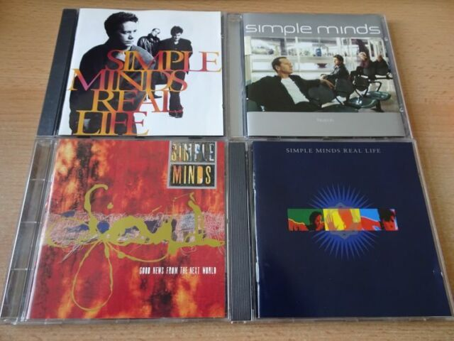 4 CD Set Simple Minds: Neapolis + Real Life 2 x) + Good news from the next world