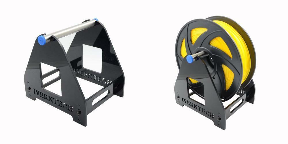 Iverntech 1 Spool Acrylic 3D Printer Filament Holder Mount Rack for PLA,...