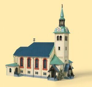 Hs-Auhagen-12229-iglesia-Bornichen-kit-Spur-HO-TT