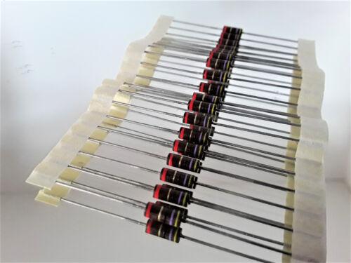 20 vintage vitrohm metal turno resistencias 15k 0,7 vatios