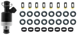 Rochester-Fuel-Injector-Rebuild-Repair-Kit-for-Chevy-GM-Oring-Seals-Filter-8-Cyl