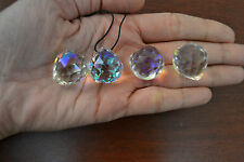 4 PCS ASFOUR AB ROUND CRYSTAL BALL PRISMS FENG SHUI 20MM #T-2810