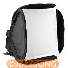 mini Soft Box Kit Softbox for Canon Nikon Pentax Olympus Flash Speedlite