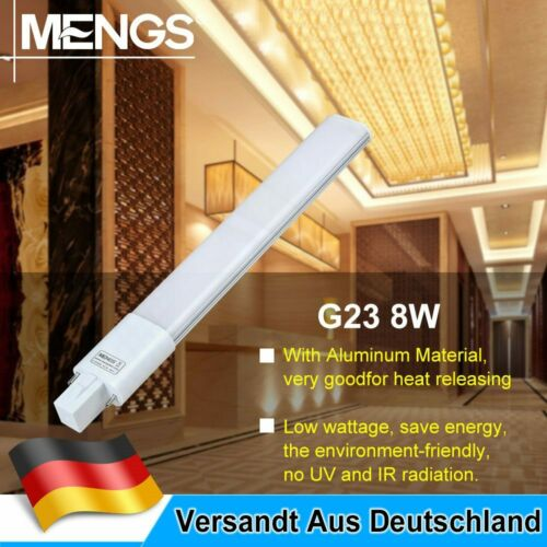 G23 8W=60W 2 Pin LED PL Lampe Leuchtmittel 800LM AC 85-265V Warmweiß//Kaltweiß