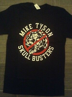 NEW iron mike boxing Mike Tyson /'scull buster/' T shirt
