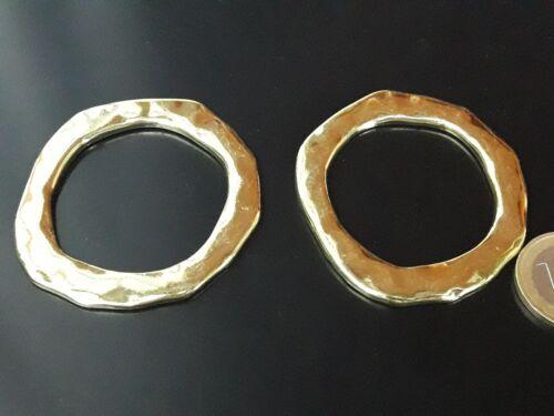 ARO-40D circulos De 2 a 30 Circulos Zamak AROS DORADOS bisuteria collares