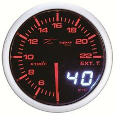 52mm Depo Racing Digital EGT Exhaust temperature gauge Fahrenheit WA5257LED