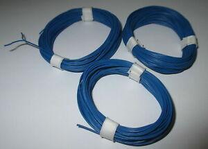 0-393-M-Doppellitze-Bleu-Bleu-Mince-2-x-10-x-0-1-3-X-5m-Neuf