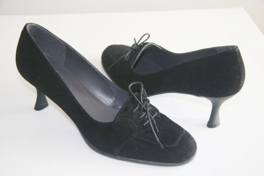Stuart Weitzman Weitzman Weitzman Black Suede Women's shoes Size 9 M 606849