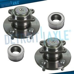 Front Wheel Bearing And Tie Rod End Kit For 2006-2011 Hyundai Accent