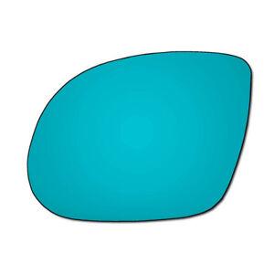 Left-Passenger-Side-Vauxhall-Corsa-C-Sri-Hagus-00-06-BLUE-Wing-Mirror-Glass
