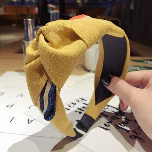 Korea Big Bow Wide Hair Band for Girls Women Hair Accessories Headband For//Women