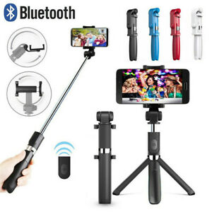 Extendable-Wireless-Remote-Tripod-Selfie-Stick-Wireless-Shutter-Phone-Holder