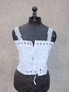 Ancien-Bustier-cache-corset-brode-ajoure-1900-N-4