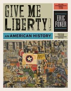 Give me liberty an american history third edition vol 2 by image is loading give me liberty an american history third edition fandeluxe Image collections
