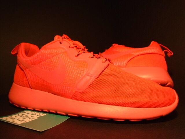 Nike ROSHE RUN ROSHERUN HYPERFUSE LASER CRIMSON SPORT RED PINK 642233-600 10 8.5