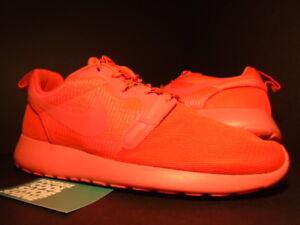 low priced e4c34 803bb Image is loading Nike-ROSHE-RUN-ROSHERUN-HYPERFUSE-LASER-CRIMSON-SPORT-