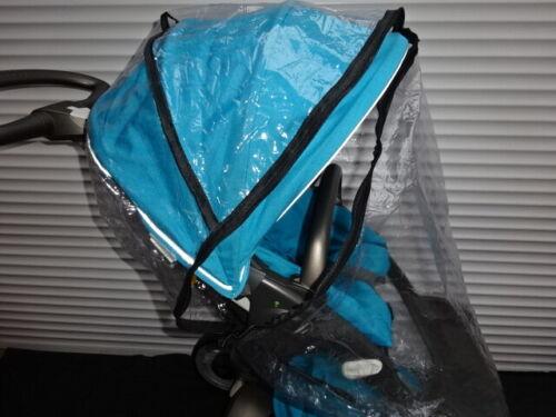 Nuevo Protector contra la lluvia con cremallera para caber Stokke Xplory Cochecito Asiento Unidad /& capazo