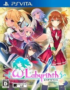 USED-PS-Vita-Omega-labyrinth-Japan-Import-Official