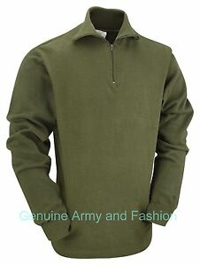 BRITISH-NORWEGIAN-ARMY-STYLE-MILITARY-COLD-WEATHER-FIELD-SHIRT-NORGIE-NORGY-TOP