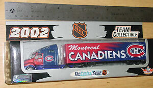 2002-NHL-MONTREAL-CANADIENS-TRANSPORTER-TRUCK-WHITE-ROSE-COLLECTIBLES