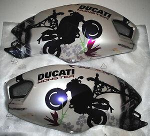 Kit Carenage Coque De Reservoir Ducati Monster 696 1100 1100s Ref