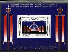Grenadines Of Grenada 1977 SG#MS168 Silver Jubilee MH M/S #A89203