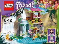 Lego Friends 41033 Jungle Falls Rescue With Tiger & Chameleon - In Box
