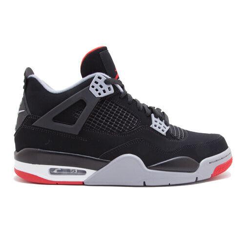 Size 8.5 - Jordan 4 Retro OG Bred 2019 for sale online | eBay