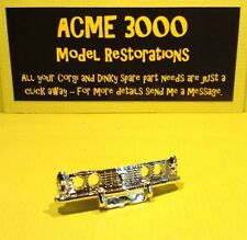Corgi 275 Rover 2000TC Reproduction Repro Chrome Plastic Grille & Bumper Unit