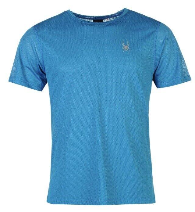 Spyder ALPINE  Camiseta Hombre blue silver Todas sizes Nuevo con etiquetas  online shopping