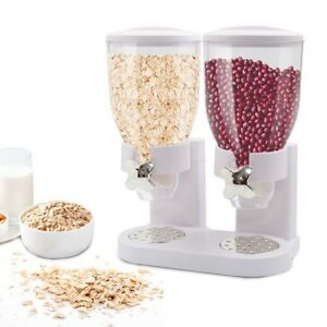 Cereal-Storage-Dispenser-Container-Kitchen-Dry-Food-Canister-Portion-Control