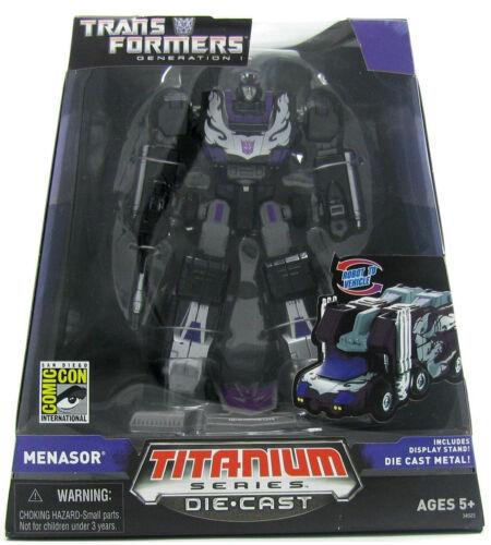 Transformers Titanium 2007 SDCC Exculsive Menasor NEW MIB