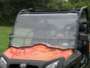 soft top clear lexan windshield cf moto uforce 800 550. Black Bedroom Furniture Sets. Home Design Ideas