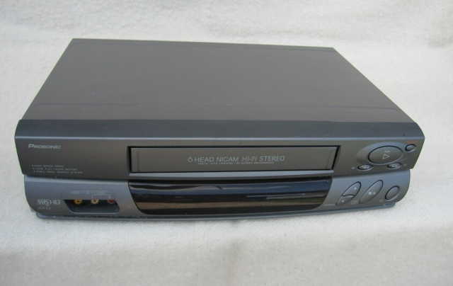 VHS videomaskine, Prosonic, VCR X-6, God, - 6 Head, -…