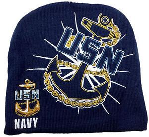 Navy Stocking Cap 29