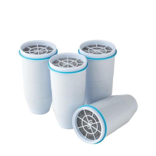 Zero Water 4 Pack Replacement Pitcher Filter Cartridge Filtration Pure Taste