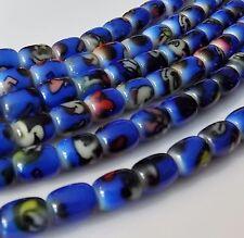 "Blue Disney Themed 10x8mm Barrel Acrylic Beads (16"" Strand)"