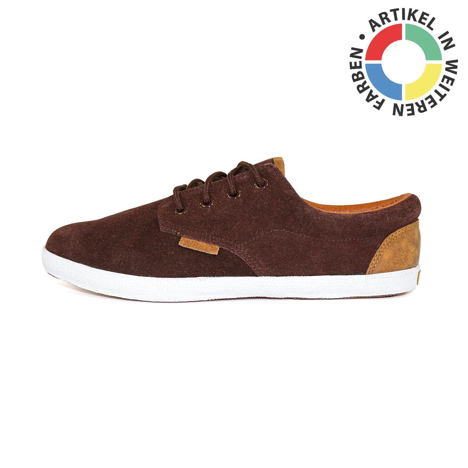 Djinns Nice Low-Pro versch. Suede Herrenschuh Sneaker Schuhe, versch. Low-Pro Farben, 50533 a6fe98