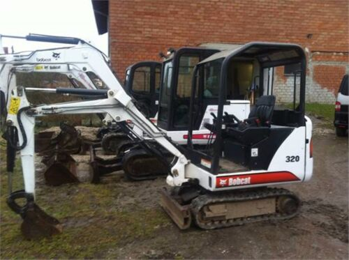 Bobcat 320 y 320L Mini Excavadora Manual de taller
