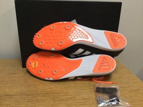 Blanco hombre Adidas o para 889766265355 Tama Distancestar Spike Negro Naranja Track Nuevo 13 Opw1CqO